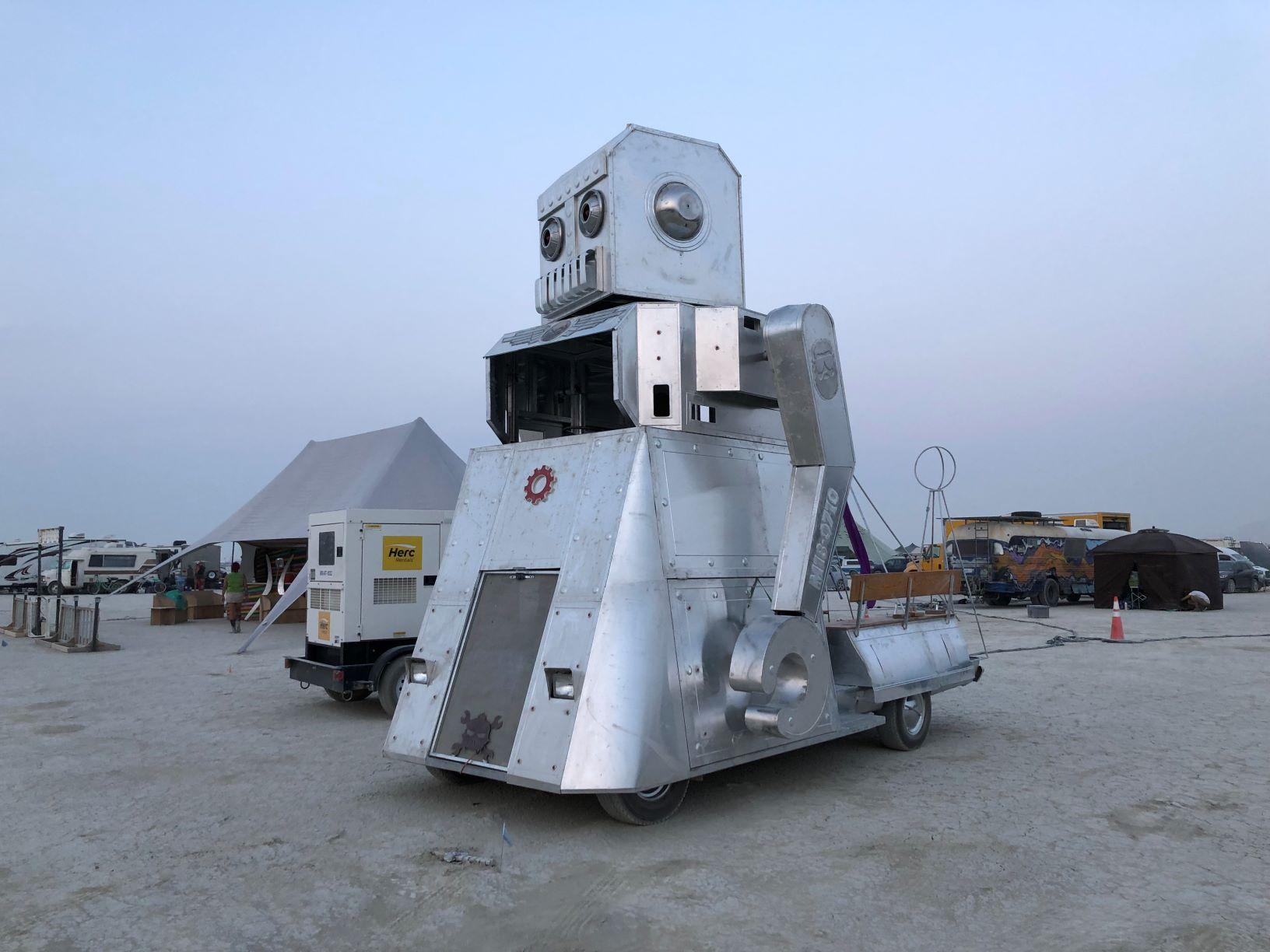 Deadbeat Dad Robot