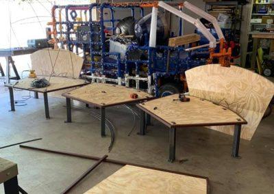 Lotus Chairs in progress